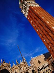 Bell Tower at San Marco, Venice, Italy by Glenn Beanland