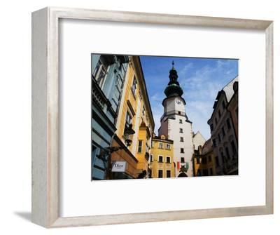 Buildings Near Michael's Tower in Old Town, Bratislava, Slovakia