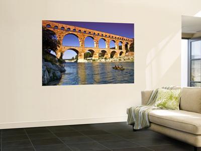 Canoeing Near Pont Du Gard