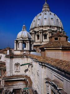 Dome of St. Peter's Basilica, Vatican City by Glenn Beanland
