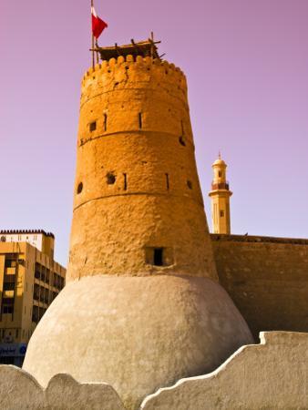 Exterior of Historic Dubai Museum