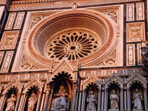 Facade of the Duomo, Florence, Tuscany, Italy by Glenn Beanland
