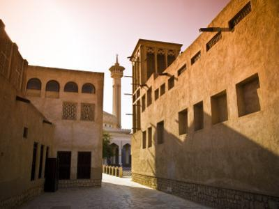 Historic Bastakia Quarter in Bur Dubai