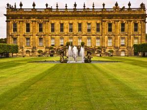 Historic Chatsworth House and Gardens by Glenn Beanland