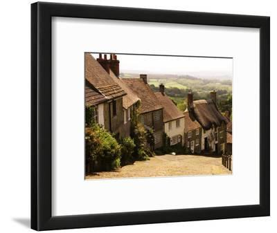 Houses on Gold Hill, Shaftesbury, United Kingdom