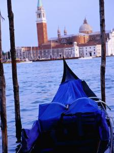 Looking Out from San Marco Over Gondola, Venice, Italy by Glenn Beanland