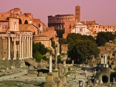 Roman Forum from Capitoline Hill