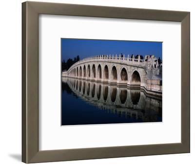 Seventeen Arch Bridge at Summer Palace Bejing, China