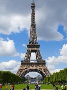 Storm Clouds Gathering at the Eiffel Tower by Glenn Beanland
