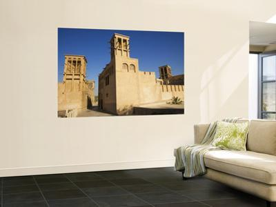 The Historic Bastakia Quarter in Bur Dubai