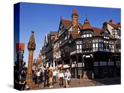 The Rows Along Eastgate, Chester, United Kingdom
