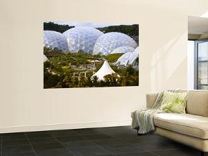 Three Biomes of the Eden Project, Largest Greenhouses in the World by Glenn Beanland