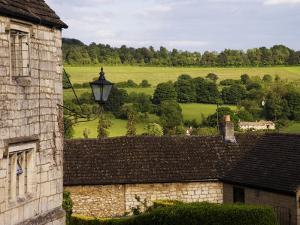 Typical Cotswold Houses and Countryside, Painswick, Gloucestershire, England by Glenn Beanland