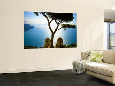 View from the 13th Century Villa Rufolo in Ravello, Amalfi Coast