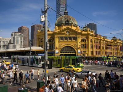 View of Flinders Street Station