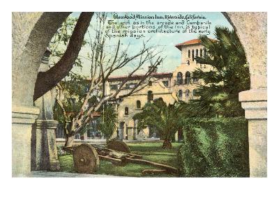 Glenwood Mission Inn, Riverside, California--Art Print
