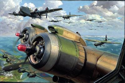Glider Training, c.1944-C.C Turner-Giclee Print