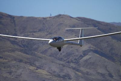 Glider, Warbirds over Wanaka, Wanaka, War Plane, Otago, South Island, New Zealand-David Wall-Photographic Print