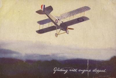 Gliding with Engine Stopped--Giclee Print