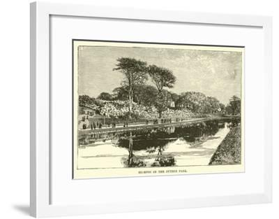 Glimpse in the Duthie Park--Framed Giclee Print