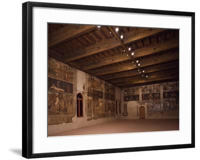 Glimpse of Hall of Months, Palazzo Schifanoia--Framed Giclee Print