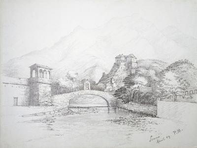 Glimpse of Loano, April 1859, Italy--Giclee Print