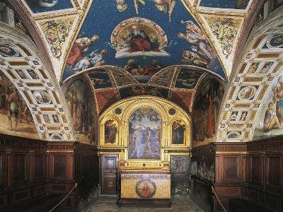 Glimpse of the Audience Hall, Collegio Del Cambio--Giclee Print