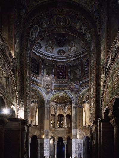 Glimpse of the Interior, Basilica of San Vitale--Photographic Print
