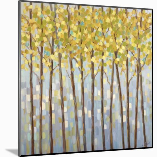 Glistening Tree Tops-Libby Smart-Mounted Art Print