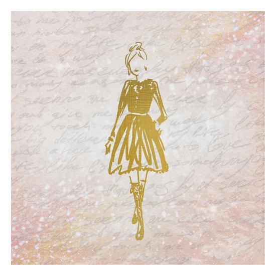 Glitter Fashion 3-Kimberly Allen-Art Print