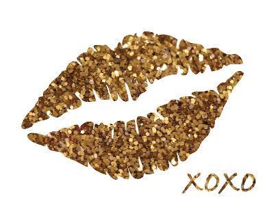 Glitter Lips-N^ Harbick-Art Print
