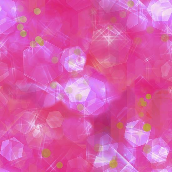 Glitter Love Pink Pattern-Tina Lavoie-Giclee Print