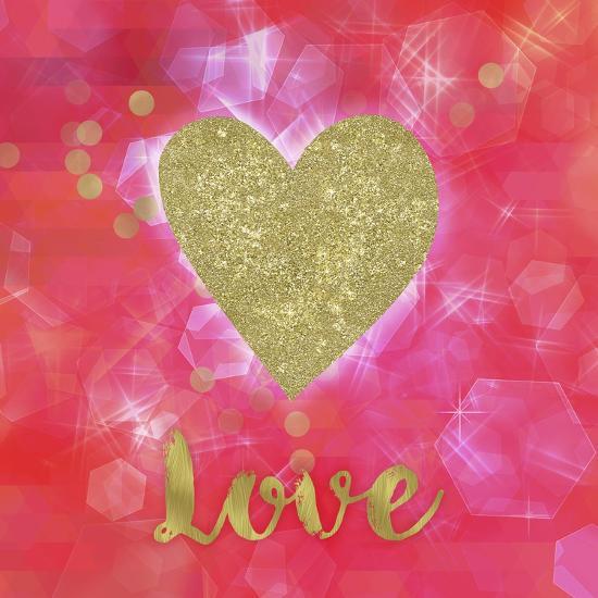 Glitter Love-Tina Lavoie-Giclee Print