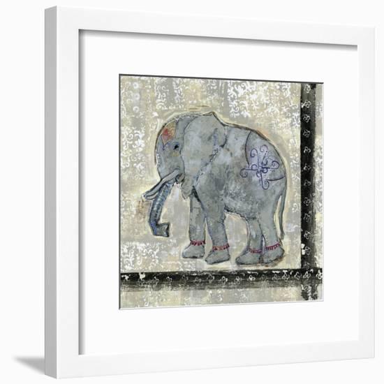Global Elephant V-Tara Daavettila-Framed Art Print