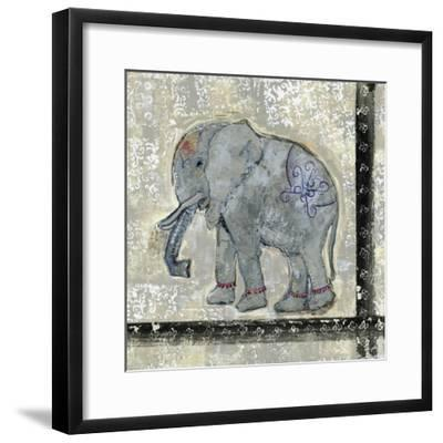 Global Elephant V-Tara Daavettila-Framed Art Print