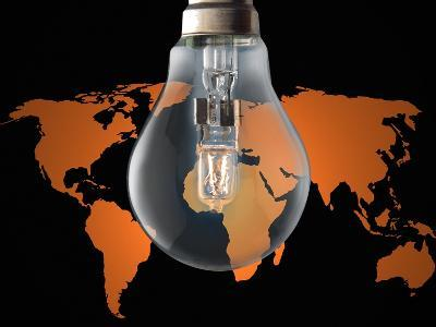 Global Energy Consumption-Victor De Schwanberg-Photographic Print