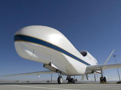 Global Hawk Unmanned Aircraft-Stocktrek Images-Photographic Print