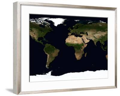 Global Image of the World-Stocktrek Images-Framed Photographic Print