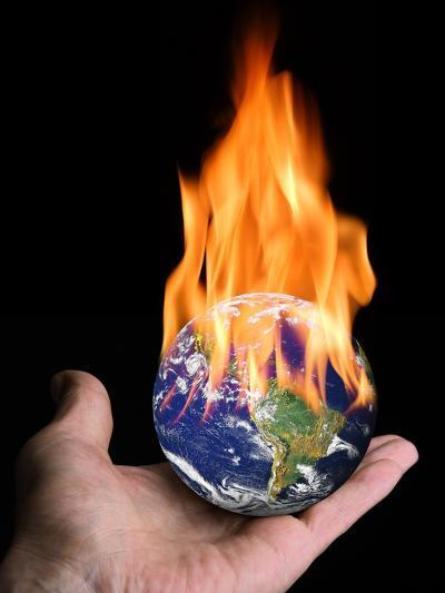 Global Warming, Conceptual Artwork-Victor De Schwanberg-Photographic Print