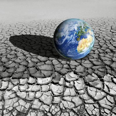 Global Warming, Conceptual Artwork-Detlev Van Ravenswaay-Photographic Print