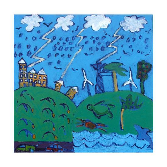 Global Warming-Paul Powis-Giclee Print