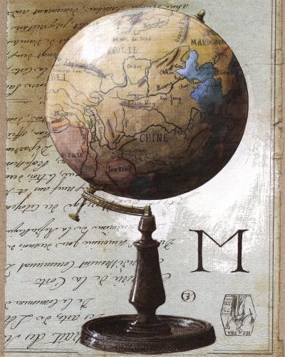 Globe-Gouny & Marange-Art Print