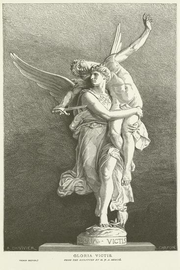 Gloria Victis-Marius Jean Antonin Mercie-Giclee Print