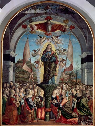 Glorification of St. Ursula and Her Companions-Vittore Carpaccio-Giclee Print