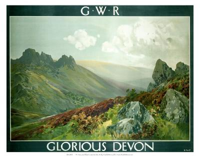 Glorious Devon, GWR, c.1923-1947--Art Print