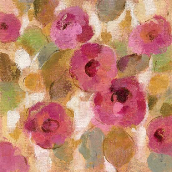 Glorious Pink Floral III-Silvia Vassileva-Art Print