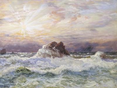 Glorious Sunset-John Brett-Giclee Print