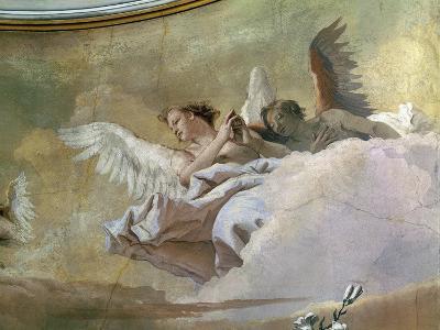 Glory of Angels-Giovanni Battista Tiepolo-Giclee Print