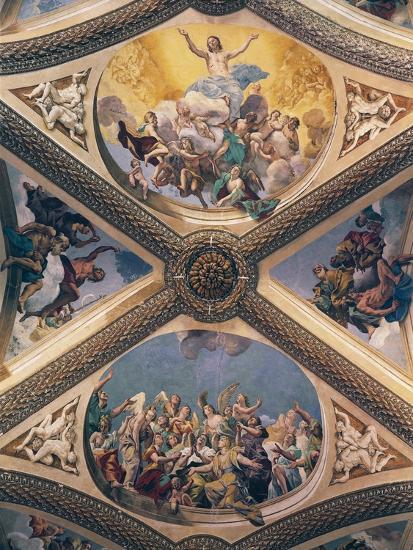 Glory of Christ, Fresco-Giovanni Lanfranco-Giclee Print