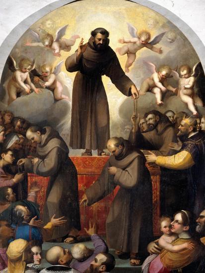 Glory of Saint Francis-Jacopo Ligozzi-Giclee Print